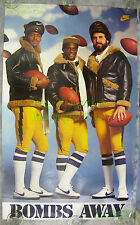 Vintage RECALLED Dan Fouts San Diego Chargers Bombs Away NIKE Poster VHTF!!!