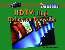 HDTV : High Definition Television (Great Idea)-ExLibrary