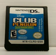 Nintendo DS Game - Club Penguin - Elite Penguin Force - Disney - USED - No Case