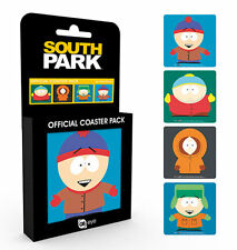 South Park Boys Officially Licenced 4 Coasters Set BRAND NEW Gift Boxed