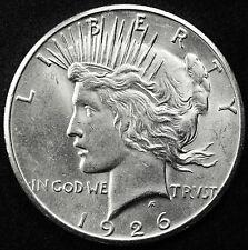 1926-s Peace Silver Dollar.  B.U.  83674
