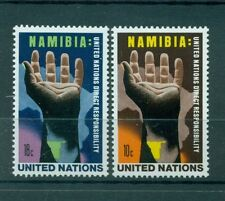 "Nations Unies New York 1975 - Michel n. 285/86 - ""Namibie"""