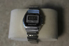 Vintage 70's Robotron LCD watch, very hard to find. Mint Condition, Working