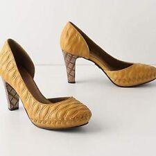 """6.5 EUC Anthropologie Schuler & Sons """"Waving Grains Pumps"""" Shoes"""
