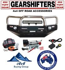 VW AMAROK UTE 4X4 4X2 DELUXE LOOP BULL BAR STAINLESS LOOPS 2011 ON 4WD COMBO