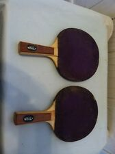 lot of 2 Vintage Stiga Ping Pong Paddle Racket