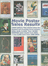 MOVIE POSTER SALES RESULTS 2004 eMOVIEPOSTER.COM & MOVIE COLLECTOR'S WORLD MAG