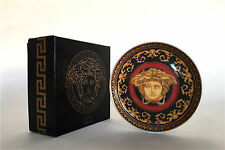 "Rosenthal studio-line VERSACE ""Medusa"" Porcellana Round Coaster-Boxed"