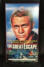 The Great Escape VHS 1963 Deluxe Letterbox Edition Steve McQueen James Garner