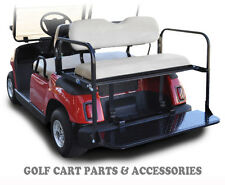 Yamaha G16-22 Golf Cart Rear Flip Seat Kit (1995-2006)  *IVORY SEAT CUSHIONS*