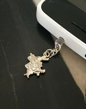 Alice In Wonderland Rabbit Phone Charm Dust Plug Cover iPhone Tablet Gift