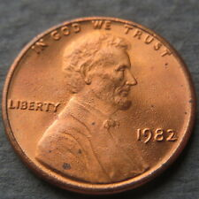 "ERROR COIN, 1982  LINCOLN CENT, DOUBLE DIE ERRORS, ""SPLATTERED"" Grease Struck #3"