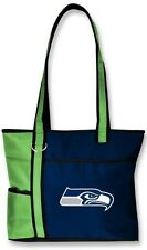 New Gameday Tote Purse Bag NFL Licensed SEATTLE SEAHAWKS Embroidered Logo gift