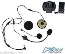 Spare Finnmoto Motorcycle Helmet Mount & HiFi Speakers Mic for Intercom Headset