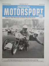 ILLUSTRIERTER MOTORSPORT 20 - 1953 November-1 Sandbahn Karlshorst 28. Six - Days