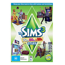The Sims 3 70s, 80s & 90s Stuff Expansion Pack Download Code - PC (Origin)