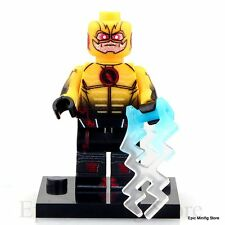 Custom Reverse Flash Minifig DC Comics Superhero fits with Lego XH294 UK Sellar