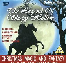 DVD Daily Mail Promo THE LEGEND OF SLEEPY HOLLOW Brent Carver & Rachelle Lefevre
