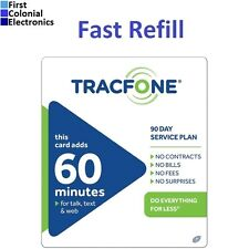 TracFone $19.99 Refill -- 60 Minutes / 90 Days, Applied To Phone Directly