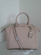 NWT Michael Kors Riley Ballet Large Satchel Pebbled Leather bag