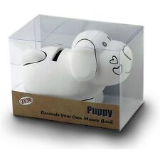 Puppy Decorate Your Own Money Bank - Paint Dog Box Childrens Arts And Crafts