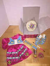 American Girl KAYA JINGLE DRESS OF TODAY SPECIAL EDITION NEW IN BOX RETIRED 2014