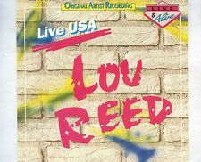 CD LOU REED live usa GERMAN EX+