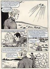 MADAME ATOMOS CRACHE DES FLAMMES PLANCHE ORIGINALE  PAGE 116 SOUCOUPE VOLANTE