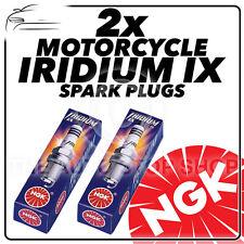 2x NGK IRIDIUM IX Bujías de actualización para BUELL 1200cc X1 Lightning 99 - > 03 #2316