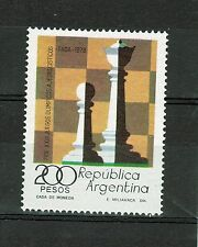 Argentina. (1978) Sc.1200/ GJ.1828. Chess. MNH. Excellent condition.