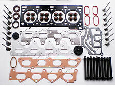 FOR RENAULT CLIO 172 182 2.0 SPORT F4R CYLINDER HEAD GASKET SET 16 VALVES BOLTS