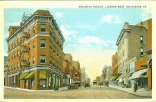 Rochester PA Brighton Avenue looking West 1941