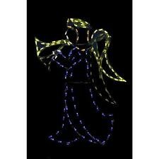 72in Pro-Line LED Wire Decor Angel Indoor Outdoor Yard Christmas Holiday Display