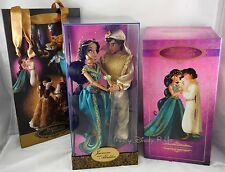 Disney Jasmine & Aladdin Fairytale Designer Couple Collection Doll LE# 1500/6000