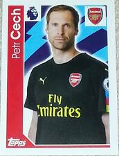 25 Petr Cech ARSENAL 2016/2017 Topps Merlin Premier League sticker