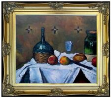 Framed, Paul Cezanne Jas De Bouffan Repro, Hand Painted Oil Painting 20x24in