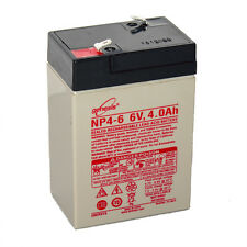 Enersys Genesis 6V 4AH Rechargeable Feeder Lantern Battery