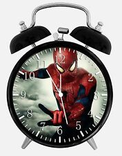 "Spiderman Alarm Desk Clock 3.75"" Room Decor X52 Nice for Gifts wake up"