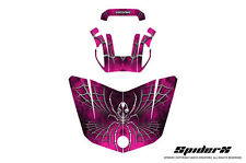 CAN-AM BRP SPYDER F3 HOOD GRAPHICS KIT SPIDERX PINK