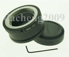 M42 Lens To Fujifilm Fuji FX X-PRO1 X1 Pro Camera Mount Adapter + Cap