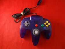 OFFICIAL Nintendo 64 Grape Controller N64 Remote Paddle WORKS!