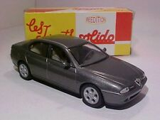 4 INCH Alfa Romeo 166 1999 Solido 1/43 Diecast Mint in Numbered Box