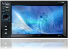 AUTORADIO mit GPS Navigation Bluetooth DVD CD USB SD MP3 2 Doppel DIN Bildschirm