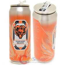 New Chicago Bears Thermo Can Travel Tumbler Stainless Drink Container