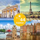 3 Tage LUXUS Kurzreise in Hamburg, Berlin, München, Dresden, Prag, Wien, Rom uvm