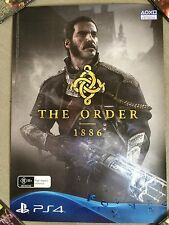 RARE - THE ORDER 1886 - OFFICIAL GAME PROMO POSTER