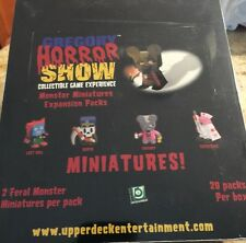Gregory Horror Show Monster Miniatures Expansion Packs 20 Packs Per Box NEW