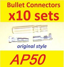 Bullet connectors (ten sets) - Suzuki AP50