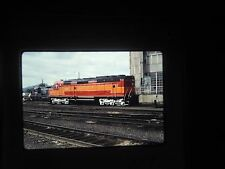 slide SP DEPOT Eugene Oregon Railroad Train Station Yard Car RR 4449 engine 743
