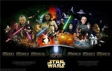 """Star Wars Episode 7 The Force Awakens Movie Poster 40x24""""  S10"""